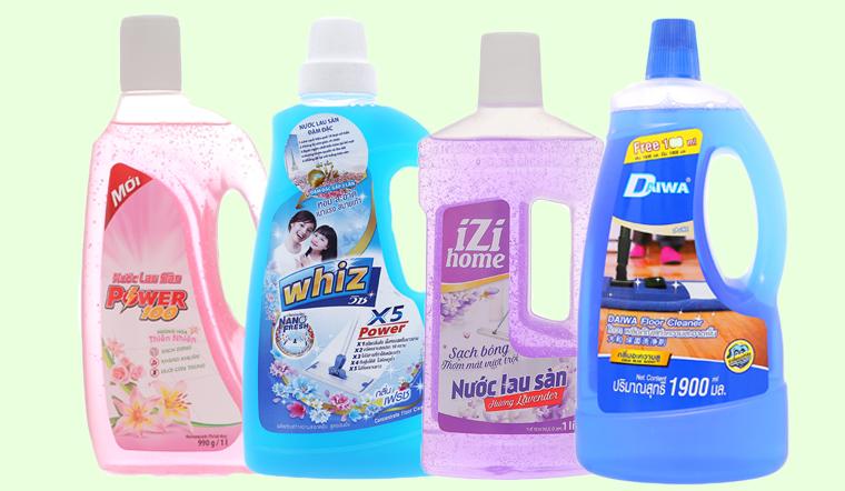 4 thương hiệu nước lau sàn nhà Thái Lan nổi tiếng tại Việt Nam