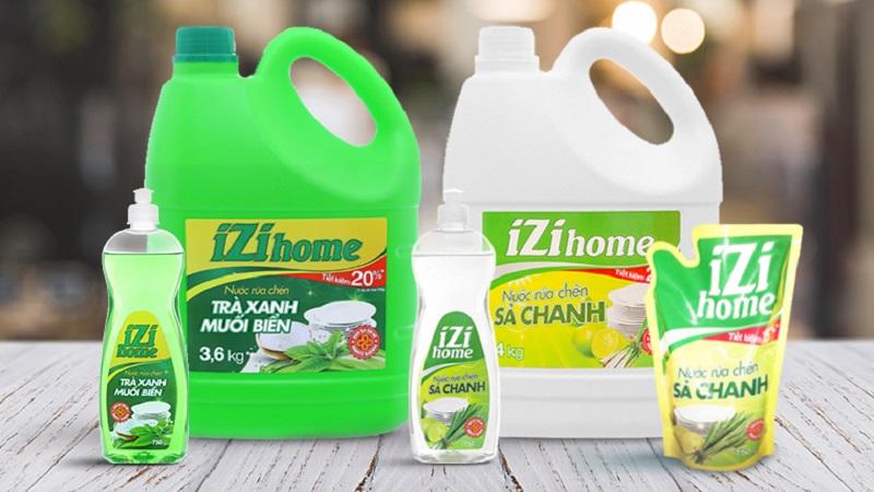 Nước rửa bát Thái Lan IZI HOME