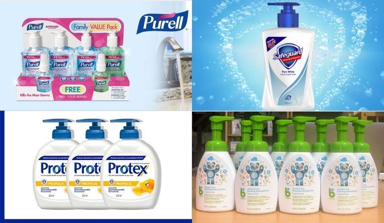 Top 5 nước rửa tay khô của Mỹ diệt sạch vi khuẩn, cho da tay mềm mại
