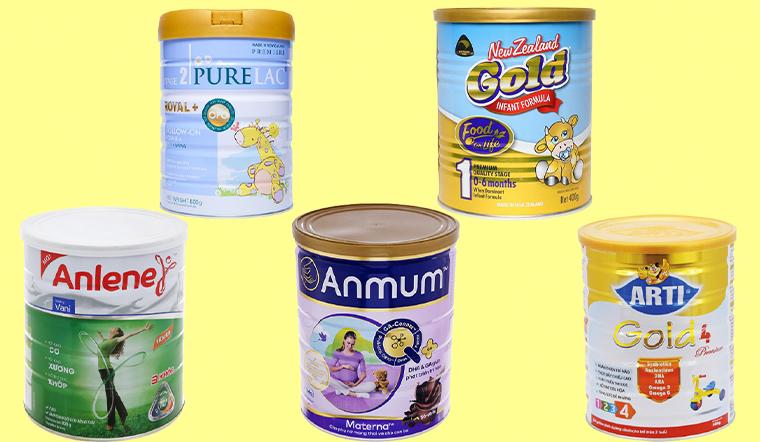 Tổng hợp 5 loại sữa bột New Zealand nổi tiếng, được tin dùng tại Việt Nam