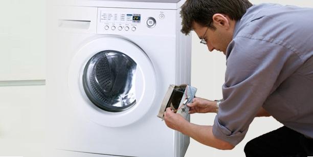 Mạch điều khiển máy giặt chưa cấp lệnh mở cửa cho công tắc cửa máy giặt