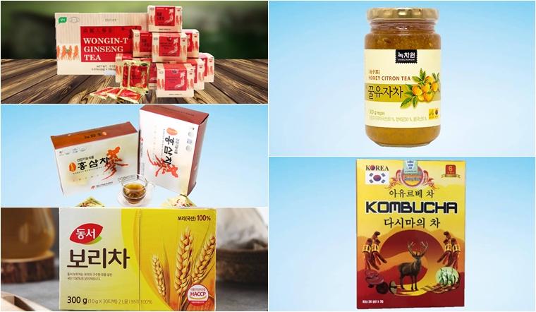 Tổng hợp 5  thương hiệu trà Hàn Quốc được yêu thích