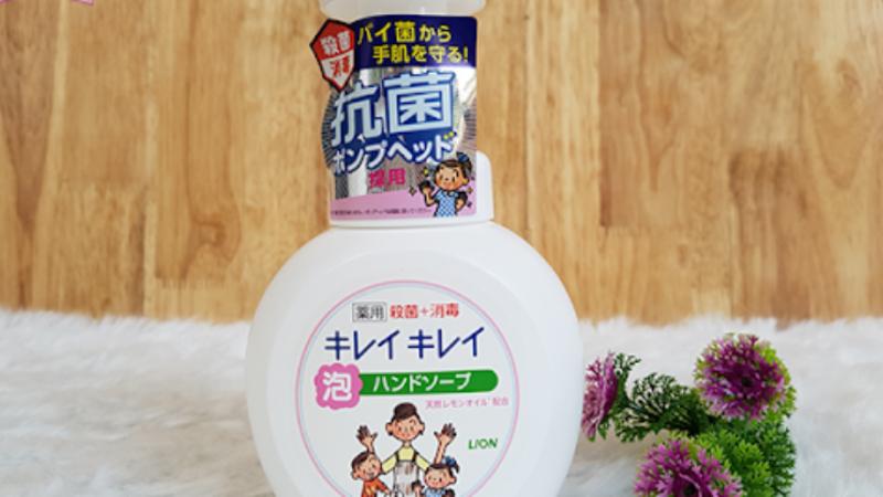 Nước rửa tay Lion là sản phẩm được nhiều người Việt sử dụng