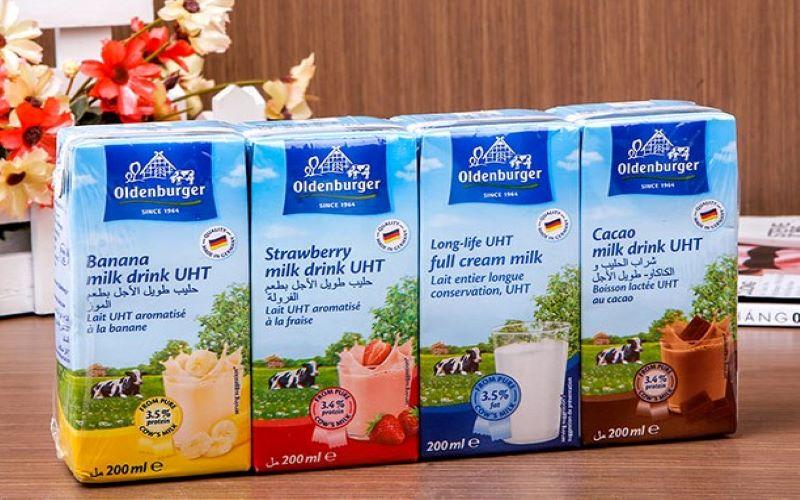 Sữa tươi nguyên kem Oldenburger