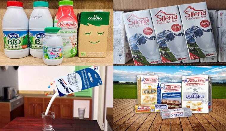 5 loại sữa tươi Pháp được tin dùng tại Việt Nam