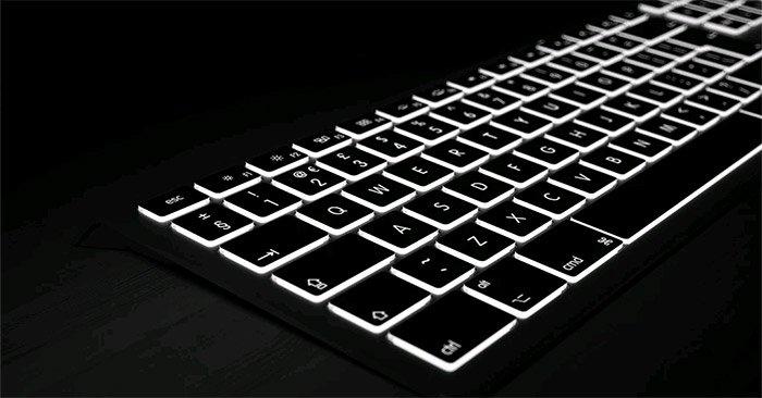 Tắt đèn nền bàn phím và bật chế độ sáng tự động