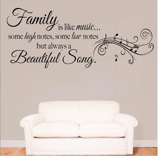 Gia đình giống như một bản nhạc có nốt thăng, nốt trầm, lúc vui, lúc buồn nhưng nó vẫn luôn là một bài hát hay