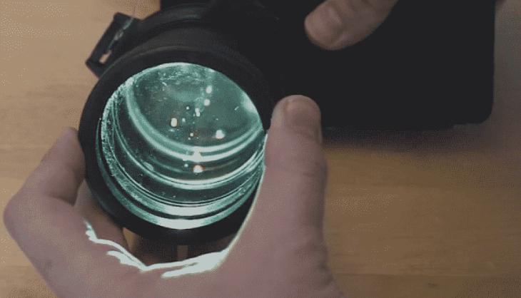 Vệ sinh ống kính