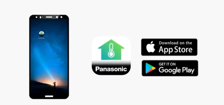 Kết nối ứng dụng Panasonic Comfort Cloud cho các dòng máy có thể tích hợp bộ chuyển đổi mạng của Panasonic