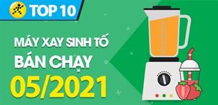 Top 10 Máy xay sinh tố bán chạy nhất tháng 05/2021 tại Điện máy XANH