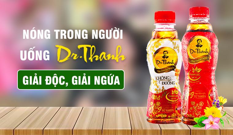 Vì sao uống trà Dr. Thanh có thể giải độc giải ngứa?