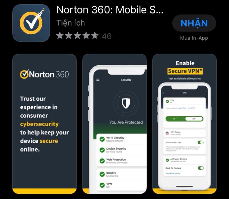 Norton cho iPhone