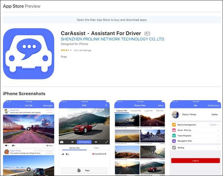 Phần mềm CarAssits