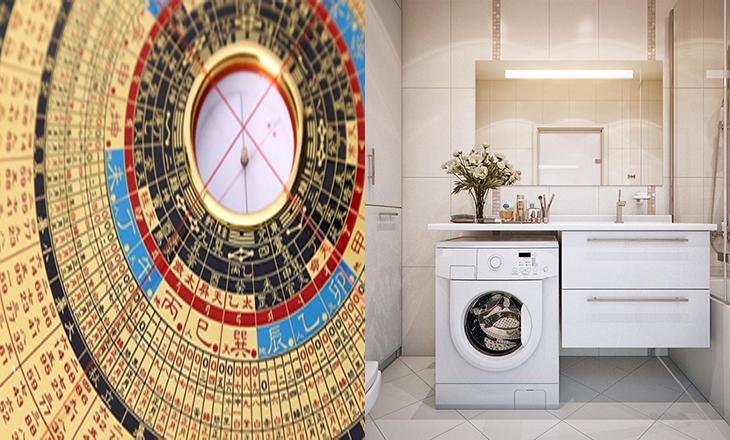 Đặt máy giặt ở vị trí sao Ngũ Hoàng