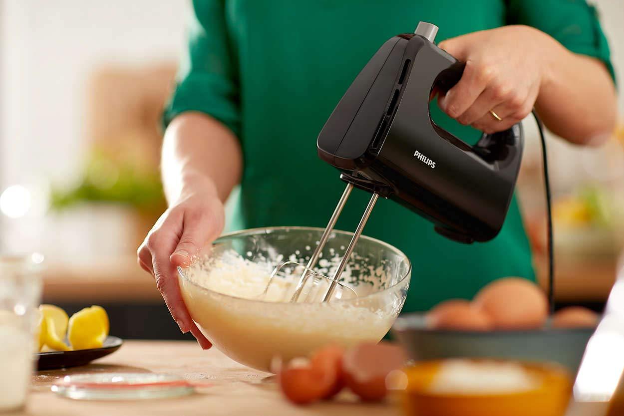 Lưu ý khi sử dụng máy đánh trứng Philips