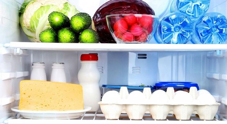 Điều chỉnh nhiệt độ tủ lạnh dựa trên số lượng thực phẩm