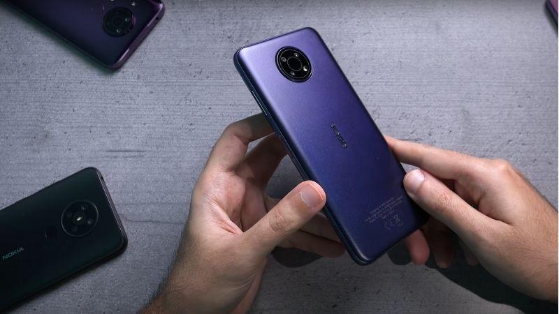 Phiên bản Nokia G10 màu night blue sâu thẳm sang trọng và có chút gì đó kín đáo. Nguồn: TheMrNokia [Abdulla Zaki].
