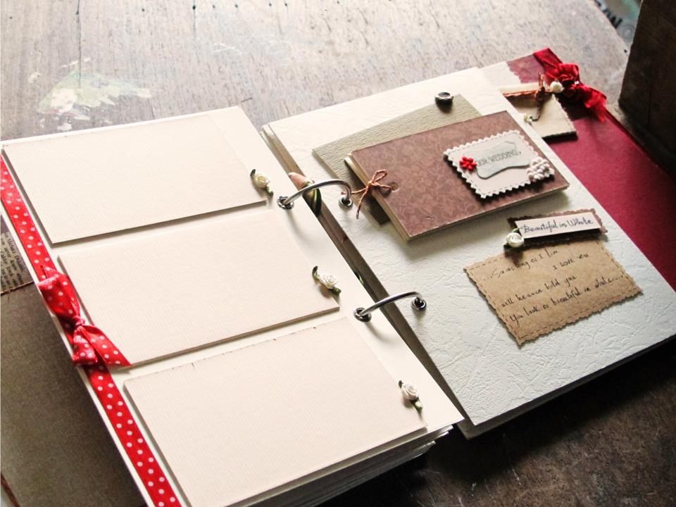 Scrapbook - Album ảnh lưu trữ kỷ niệm tự làm