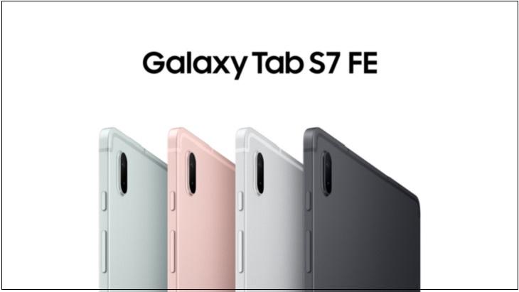 Galaxy Tab S7 FE có bốn lựa chọn màu sắc