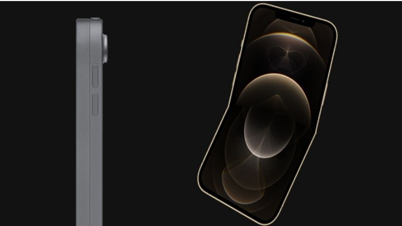 Bản thiết kế còn lại là iPhone có thể gập lại với thiết kế vỏ sò tương tự như Galaxy Z Flip.