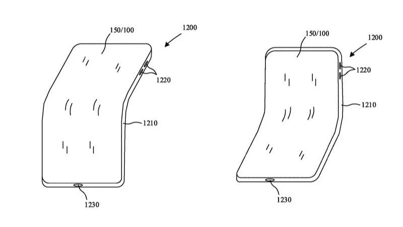 Tổng hợp bằng sáng chế iPhone gập