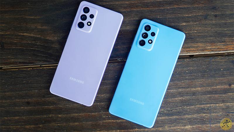 Smartphone Samsung Galaxy Dòng A Giá Tốt