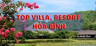 Top 8 villa, resort Hòa Bình có bể bơi, view đẹp lung linh, giá tốt