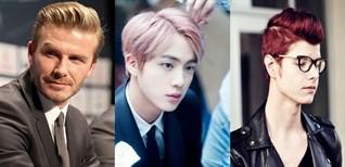 Tổng hợp những màu tóc siêu hot, cực thời thượng cho nam giới ở các độ tuổi