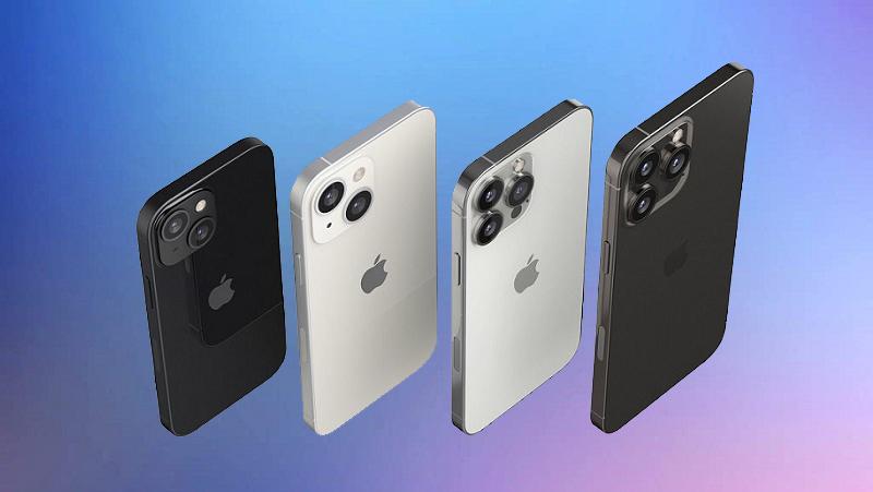 Hình ảnh render sắc nét của dòng iPhone 13: Phần notch thon gọn và...