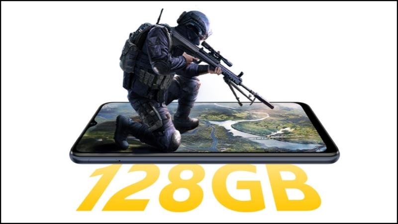 iQOO U3x Standard Edition có bộ nhớ trong 128 GB