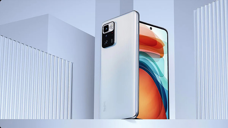 POCO X3 GT has a beautiful and quality screen with a refresh rate of 120 Hz