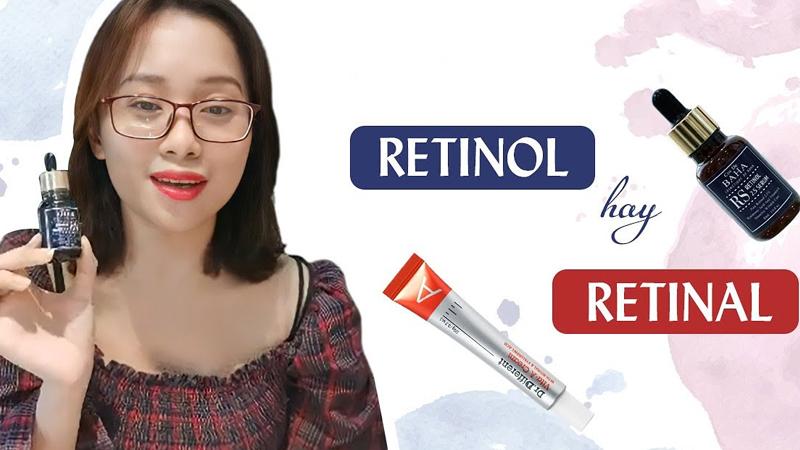 Retinal là gì? Retinal và Retinol có gì khác nhau?