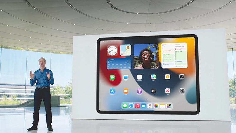 iPadOS 15 mới