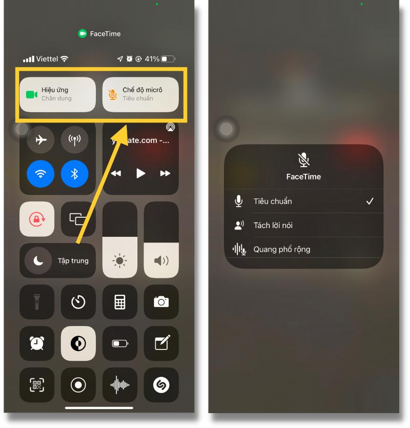 3 tính năng Spatial Audio, Voice Isolation và Wide Spectrum của FaceTime trên iOS 15 Beta.