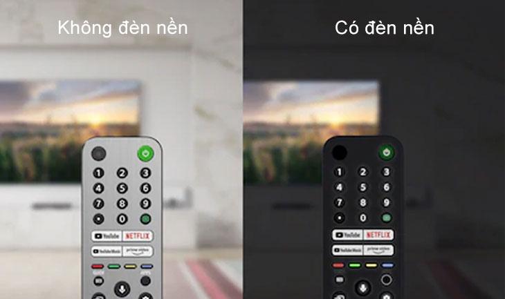 Đèn nên trên Remote Sony