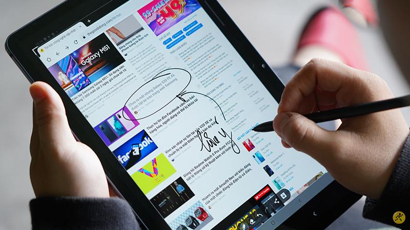 TOP 5 máy tính bảng cấu hình ngon, giá tốt đáng mua nhất tại Thế Giới Di Động thích hợp để vừa học, vừa làm, vừa chơi tại nhà