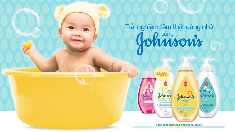 Các dòng chăm sóc Johnson's Baby tại Bách hóa XANH