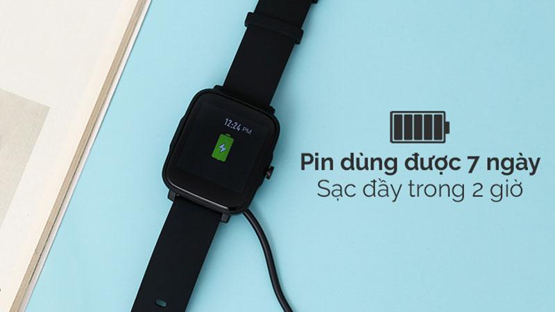 Đồng hồ thông minh BeU B2 Đen giá tốt