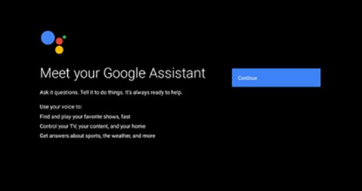 Chọn hỗ trợ Google Assistant (nếu có)