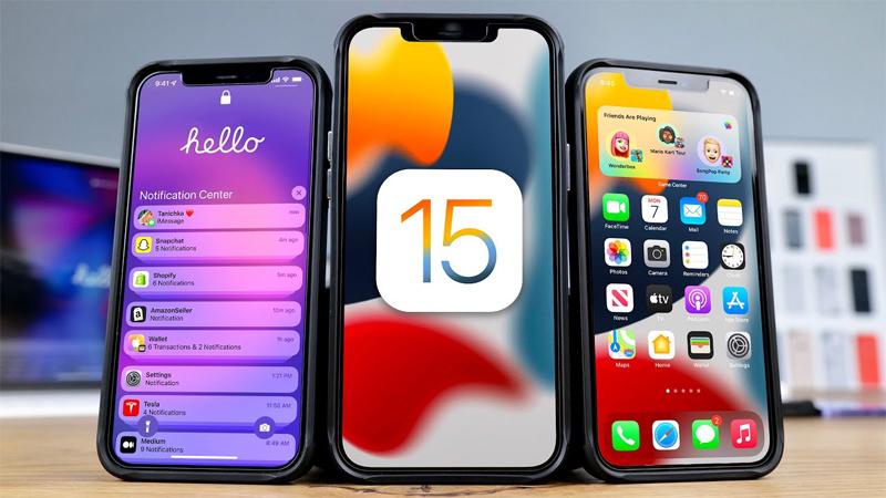 Lỗi iOS 15
