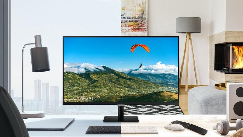 Samsung LCD Smart Monitor M5 - thiết bị giải trí đa năng, cực đáng mua