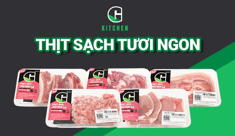 Giới thiệu Sản phẩm online thịt heo G Kitchen mới