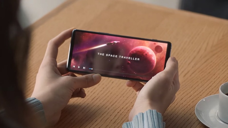 Smartphone Sony bí ẩn có camera dưới màn hình, nghi là Xperia 1 IV