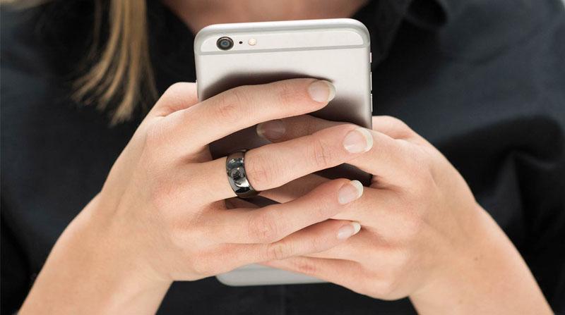 smart ring có thiết kế nhỏ gọn, đẹp mắt