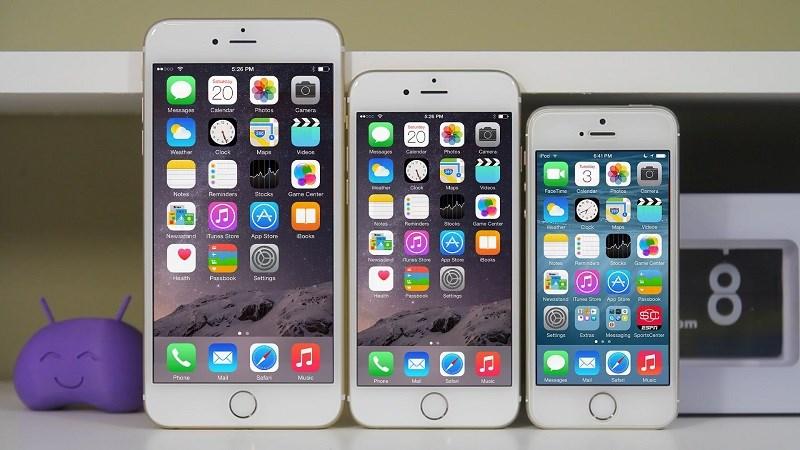 iPhone 5s,6 tiếp tục được cập nhật