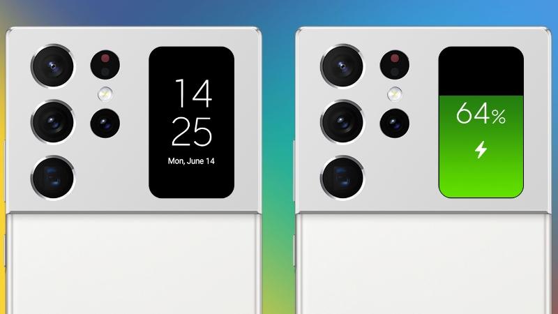Concept Galaxy Note 21 Ultra đẹp ngất ngây: Viền siêu mỏng, camera ẩn dưới màn hình và đặc biệt có màn hình phụ đa năng