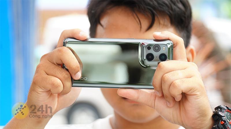 OPPO Find X3 Pro Camera đạt điểm cao