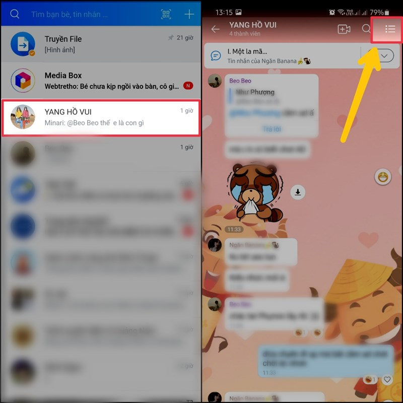 Không cần kết bạn Zalo vẫn có thể mời người dùng Zalo khác tham gia nhóm chat siêu nhanh
