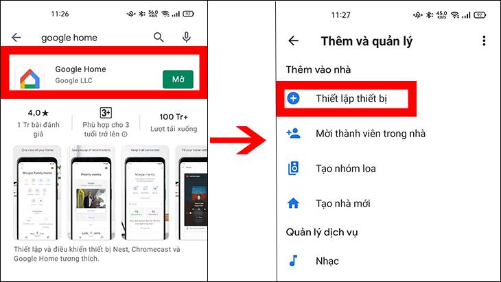 Kết nối Google Home vào TCL