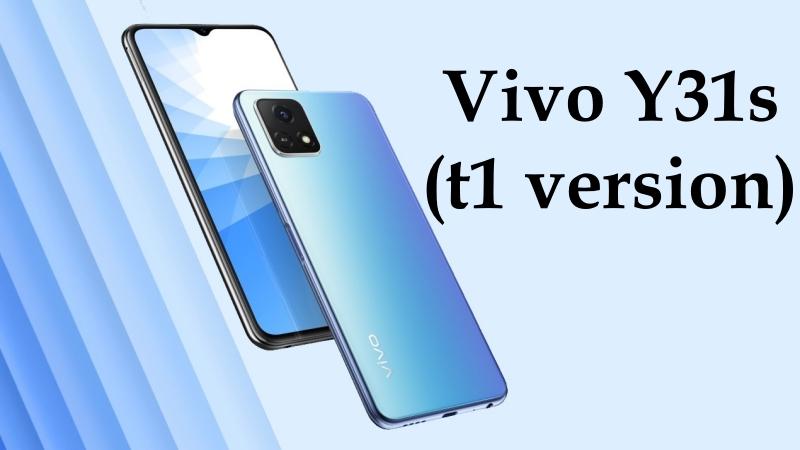 Vivo Y31s (t1 version) ra mắt: Pin 5.000mAh, mang 5G xuống phân khúc smartphone giá bình dân